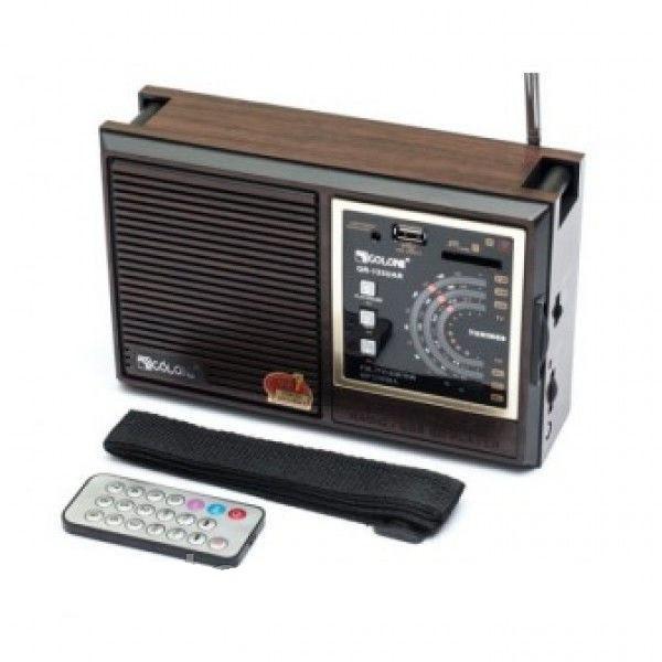 Радиоприемник RX-133 с пультом бумбокс колонка