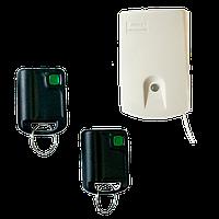 Комплект радиоуправления сигнализацией одноканальный U1-HS ( приёмник + 2 брелока-передатчика)