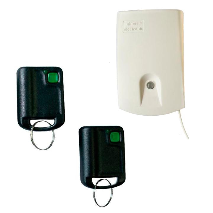 Комплект радиоуправления сигнализацией одноканальный U1-HS ( приёмник + 2 брелока-передатчика)  - Храни Киев - видеонаблюдение, домофоны, охранные системы, СКУД в Киеве