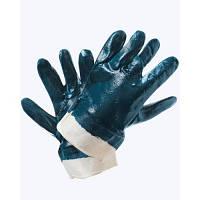 Перчатки нитрил. облив. с твердым манжетом