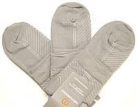 Носки серого цвета в сетку мужские  46-47р