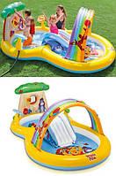 """Детский надувной игровой бассейн-центр """"Винни Пух"""" 57136"""