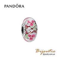 Pandora шарм ЦВЕТОЧНЫЙ САД 791652 серебро 925 Пандора оригинал