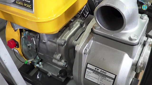 Бензиновая мотопомпа Forte FP 20C фото 1