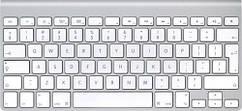 Клавиатура Apple WIRELESS KEYBOARD (MC184PL/B)