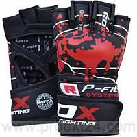 Перчатки ММА RDX BLOOD-L