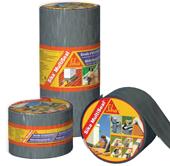 Битумная лента самоклейкая  / 10м x 50 мм Sika®MultiSeal T, 10 м.п. (серый)