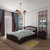 Кровать двуспальная Лилия с ящиками