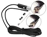 Ендоскоп 5м 5,5 мм USB 2в1, фото 3