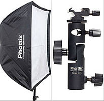 Софтбокс Phottix Easy-up 60x90cm + Varos II XS
