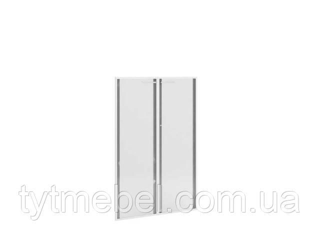Двери стеклянные кабинет флекс ф-802