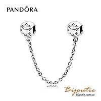 Pandora защитная цепочка PANDORA 791877 серебро 925 Пандора оригинал