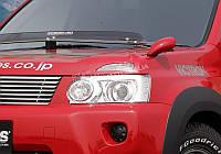 Решетка радиатора JAOS (алюминий) для Nissan X-Trail 07+
