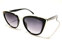 Очки женские DIOR 179 С1 SM 03414, женские очки-бабочки чёрного цвета