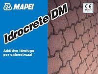 Idrocrete DM/25 кг-Ідрокрет ДМ жидкая ВОДОТТАЛКИВАЮЩАЯ добавка (белого цвета) для цементных смесей