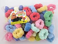 Резинки для волос - Калуш (80 шт), цветные