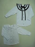Блуза с пелериною фуликра