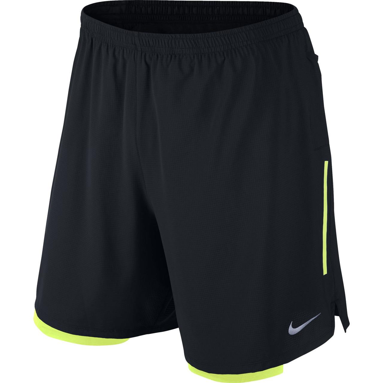 811261be Купить Мужские шорты Nike 7 phenom 2-in-1 short (Артикул: 683279-010 ...