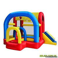 Детский надувной батут игровой центр MS 0568 горка (уличный, коммерческий)