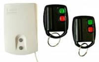 Комплект радиоуправления сигнализацией двухканальный U2-HS ( приёмник + 2 брелока-передатчика)