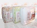Одеяло шерстяное двуспальное (кремово-розовое), фото 2