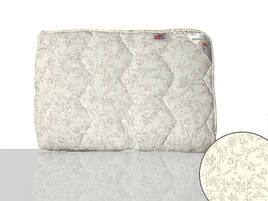 Одеяло шерстяное полуторное (кремовое)