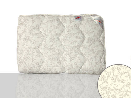 Одеяло силиконовое двуспальное (белое)