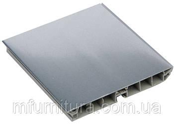 Цоколь пластиковый / 4,0 м*100мм / под алюминий (гладкий) - Scilm (Италия)