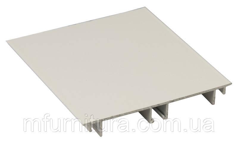 Цоколь алюминиевый / 4,2м*100мм / белый / Китай