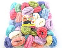 Резинка для волос - Калуш большая (50 шт), цветная
