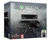 Игровая консоль Xbox One Ведьмак 3 500GB + Гарнитура + Кинект