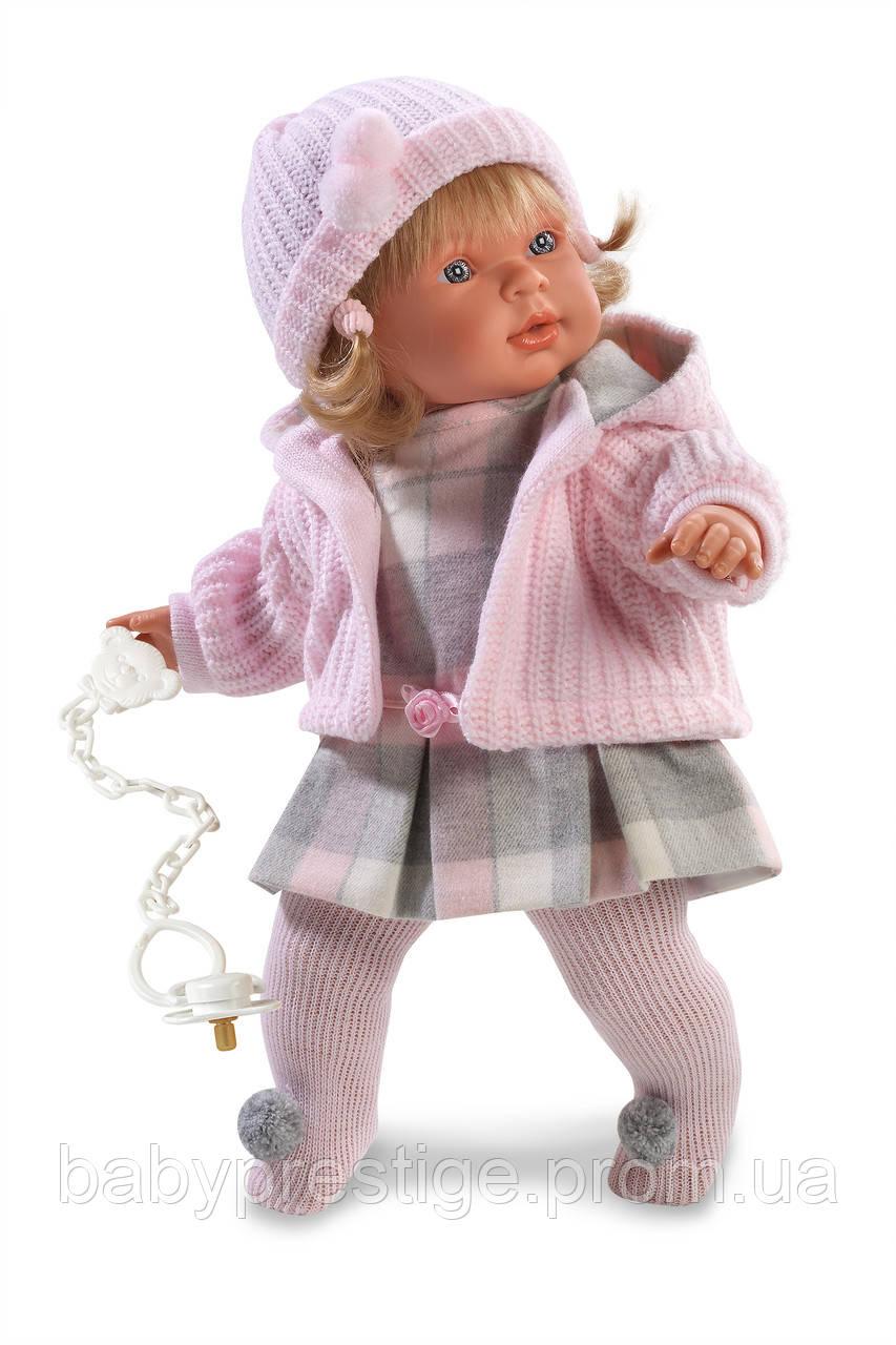 Llorens, кукла-пупс девочка Anna, 42 см