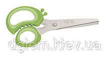 Ножницы детские 128мм с резиновыми вставками ZB.5010