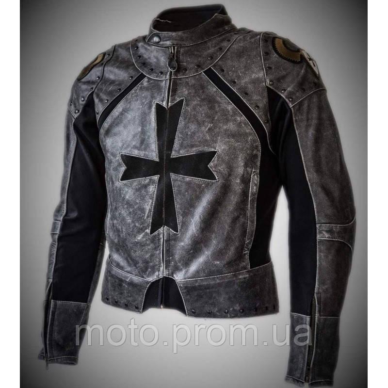 Итальянская кожаная куртка MONTECATENA ROTAS LEGEND SIGNO   56