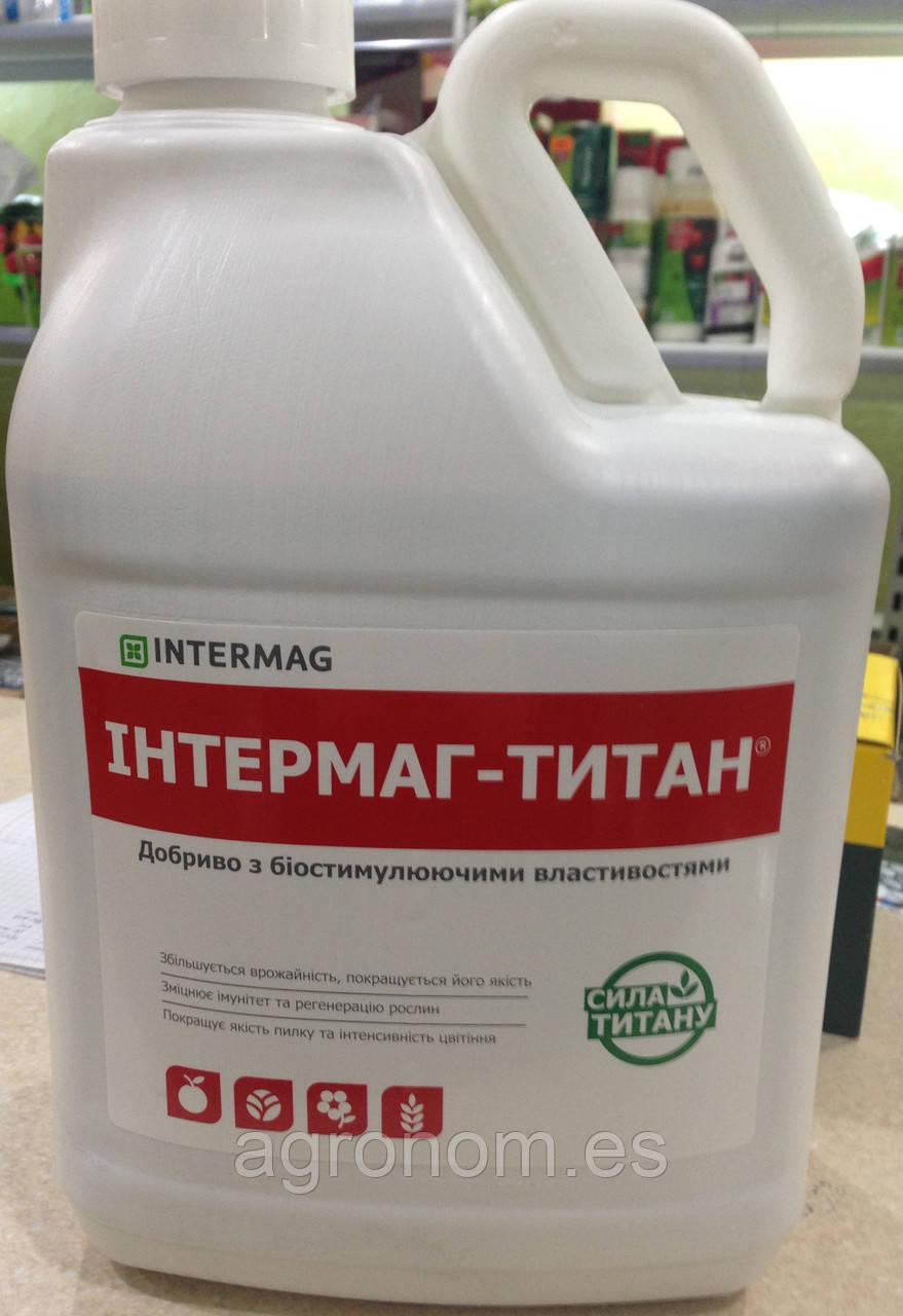 ИНТЕРМАГ ТИТАН жидкое удобрение (с рост активирующими свойствами), в.р. 100 мл расфасовка