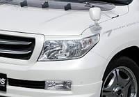 Накладки на передние фары JAOS Toyota Land Cruiser 200 -12