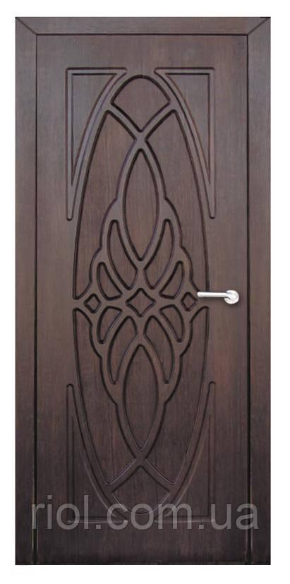 Дверь межкомнатная Орхидея (Тик)