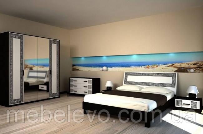 Спальня Бася Нова комплект 4ДЗ Світ Меблів