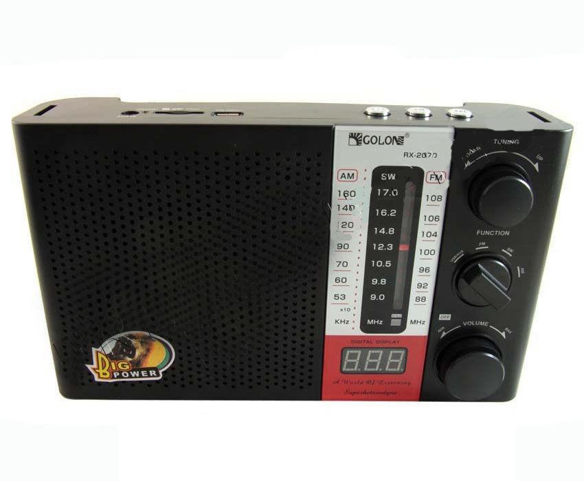 Радиоприемник Golon RX 2070 колонка MP3 радио приемник