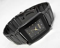 Мужские часы RADO jubile, черные, кварцевые, радо
