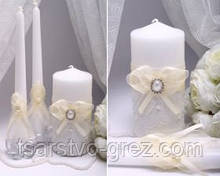 Свадебные свечи Pearl