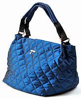 Стеганая женская сумка Prada тканевая