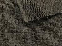 Шерсть - сукно Диагональ (серый) (арт. 0193) отрез 0,58 м