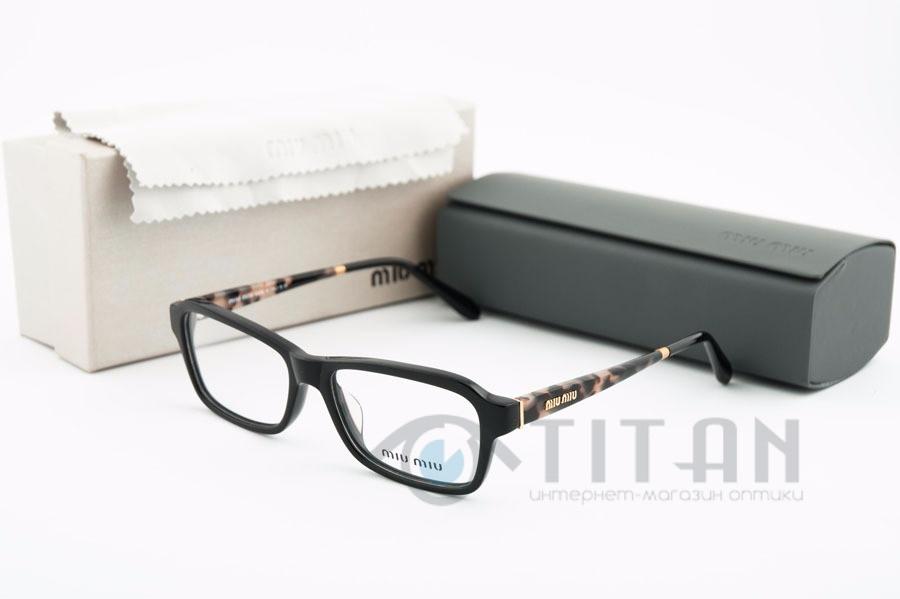 Женская оправа для очков Miu Miu VMU02N 1AB-101