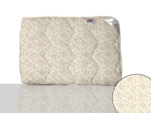 Одеяло шерстяное двуспальное (бежевое)