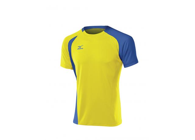 Мужская волейбольная форма Mizuno Trad Smack (желто-голубая)