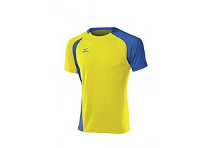 Мужская волейбольная форма Mizuno Trad Smack (желто-голубая), фото 2
