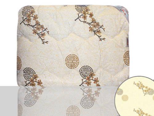 Одеяло шерстяное полуторное (бежевое)