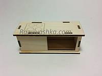 Кукольная мебель Кухонный столик с плитой для кукол, пупсов (под роспись, декупаж), фото 1