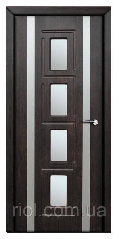Дверь межкомнатная остекленная Рим